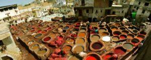 Les tanneries Chouara -